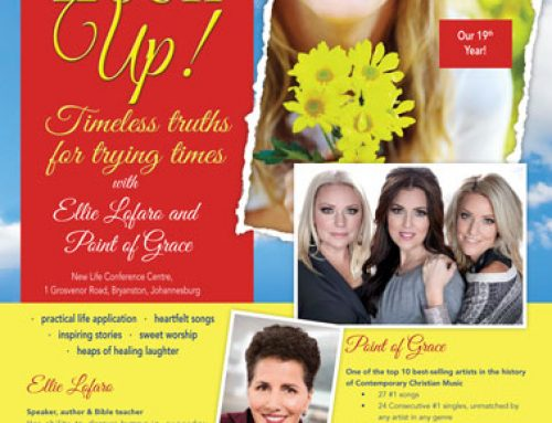 Beauty for Ashes Women's Conference JOY Magazine Advert