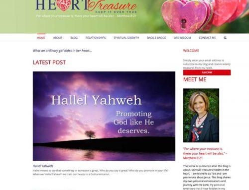 Heart Treasure Website